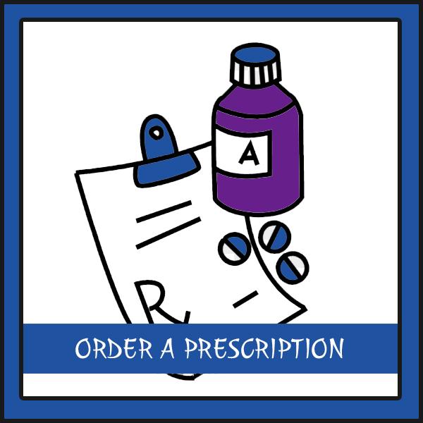 order a prescription button